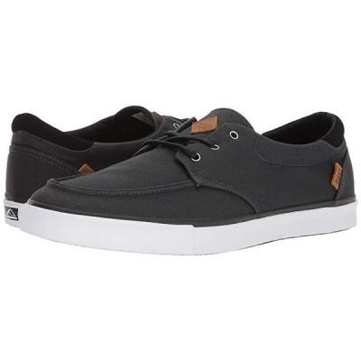 リーフ Deckhand 3 メンズ スニーカー 靴 シューズ Black/White