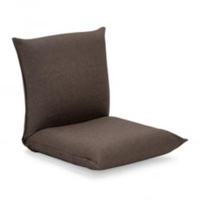 産学連携 コンパクト座椅子2 ブラウン