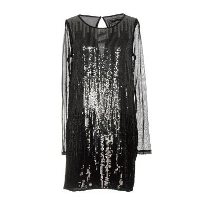 パトリツィア ペペ PATRIZIA PEPE ミニワンピース&ドレス ブラック 38 ポリエステル 100% / ナイロン ミニワンピース&ドレス