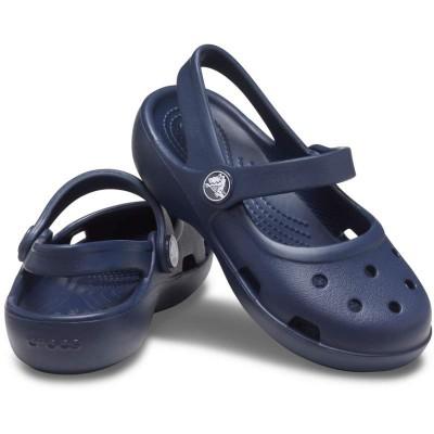 [クロックス公式] 靴 クラシック メリージェーン キッズ ガールズ、キッズ、子供用、女の子 ブルー/青 13cm,14cm,15cm,15.5cm,16.5cm,17.5cm,18cm,18.5cm,19cm,19.5cm,20cm,21cm Kids' Classic Mary Jane