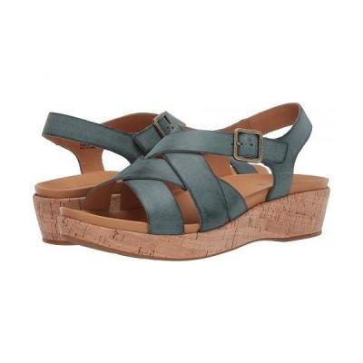 Kork-Ease コークイーズ レディース 女性用 シューズ 靴 ヒール Caroleigh - Turquoise Full Grain Leather