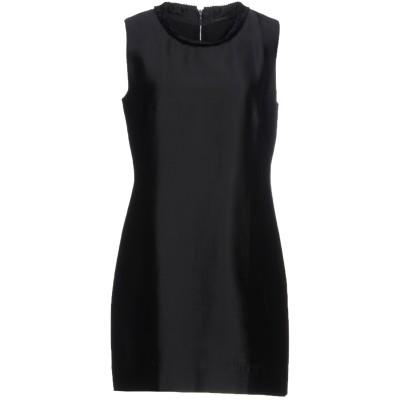 オスクレン OSKLEN ミニワンピース&ドレス ブラック 40 アセテート 94% / シルク 6% ミニワンピース&ドレス