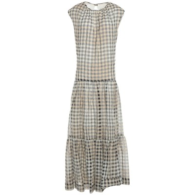 アリジ ALYSI ロングワンピース&ドレス ベージュ 46 コットン 70% / シルク 30% ロングワンピース&ドレス
