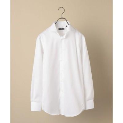 シャツ ブラウス SD:【テレワーク対応可能】イージーアイロン ツイル ホリゾンタル シャツ