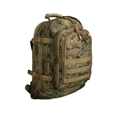 Code Alpha Tactical Gear Three Day Backpack, Marpat Woodland Digital Camouflage, 20 並行輸入品