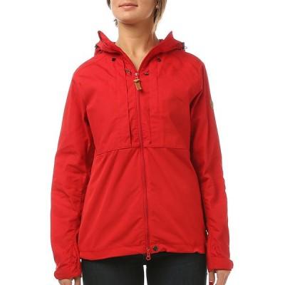フェールラーベン ジャケット・ブルゾン レディース アウター Fjallraven Women's Abisko Lite Jacket Red / Red