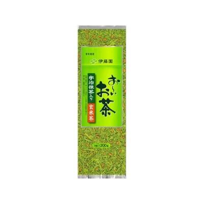[伊藤園]お〜いお茶 宇治抹茶入り玄米茶 200g