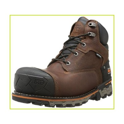 Timberland PRO Men's 6 Inch Boondock Comp Toe Waterproof Insulated Industrial Work Boot,Brown Tumbled Leather,12 M US【並行輸入品】