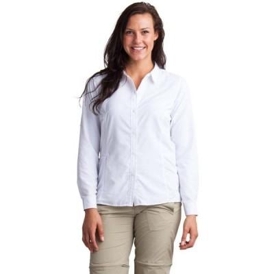 エクスオフィシオ ExOfficio レディース トップス Exofficio BugsAway Viento L/S Shirt White