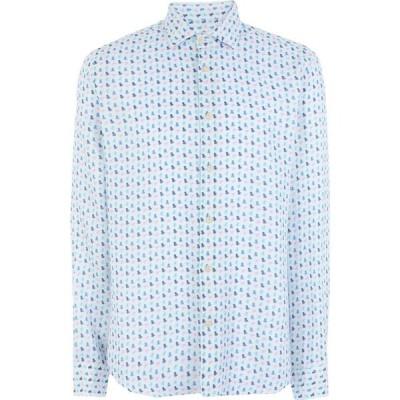 ドルモア DRUMOHR メンズ シャツ トップス linen shirt White