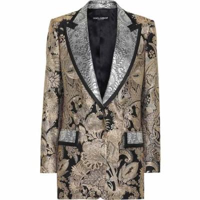 ドルチェ&ガッバーナ Dolce & Gabbana レディース スーツ・ジャケット アウター silk-blend brocade blazer Jacquard