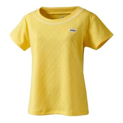 [プリンス] 半袖シャツ ゲームシャツ レディース レモンイエロー (074) 日本 S (日本サイズS相当)