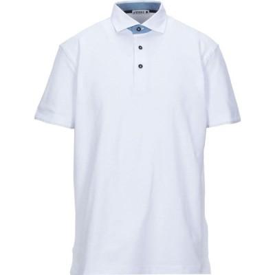 アンドレア フェンツィ ANDREA FENZI メンズ ポロシャツ トップス polo shirt White