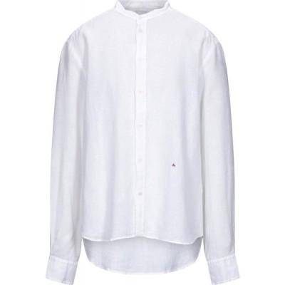 ピューテリー PEUTEREY メンズ シャツ トップス Linen Shirt White