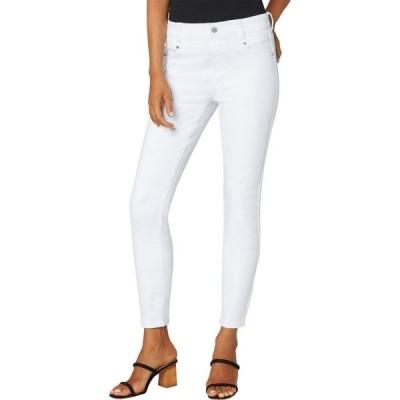 リバプール Liverpool レディース ジーンズ・デニム スキニー ボトムス・パンツ Gia Glider Ankle Skinny Jeans in Bright White Bright White