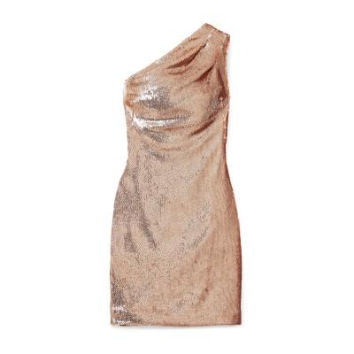 ハニー HANEY ミニワンピース&ドレス カッパー 2 ポリエステル 100% ミニワンピース&ドレス
