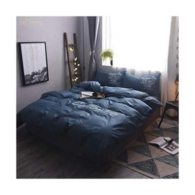 18色 綿100% 布団カバー 掛けふとん 敷きふとんカバー 寝具カバーセット 枕カバー 3点 4点セット シングルロング