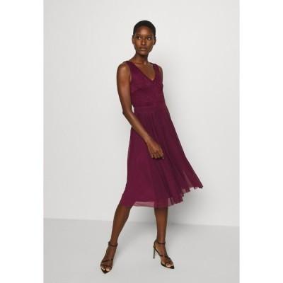 アンナフィールド ワンピース レディース トップス LACE V NECK OCCASION DRESS PURPLE POTION - Cocktail dress / Party dress - purple potion