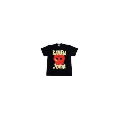 新品Tシャツ(女性アイドル) 仮面女子 KAMEN JOSHI Tシャツ ブラック(レッド) Lサイズ 駿河屋限定