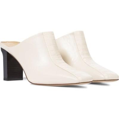 アイデ Aeyde レディース サンダル・ミュール シューズ・靴 jude leather mules Creamy/Creamy