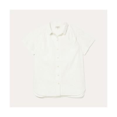 シャツ ブラウス DFT コットン×リネンシャツ