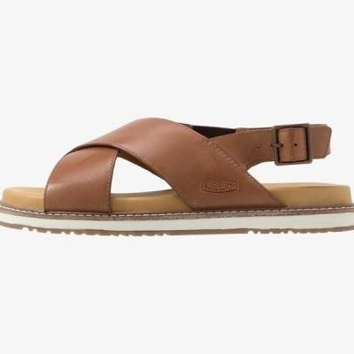 キーン レディース スポーツ用品 LANA CROSS STRAP - Walking sandals - tortoise shell/silver birch