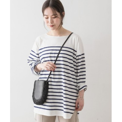 URBAN RESEARCH ROSSO WOMEN / F by ROSSO ボーダーチュニック WOMEN トップス > Tシャツ/カットソー