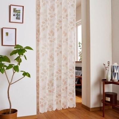 カーテン 安い おしゃれ のれん カフェカーテン 幅と丈が調節できる断熱ぱたぱたロングカーテン リフェル カラー