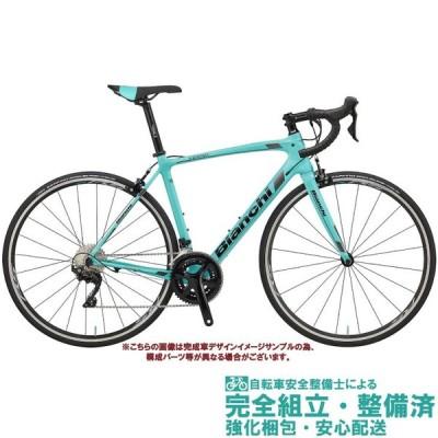 ロードバイク 2020 BIANCHI ビアンキ INTENSO SHIMANO 105 インテンソ シマノ 105 CK16/BLACK FULL GLOSSY(2A) 2×11SP 700C カーボン