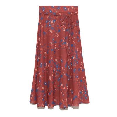 【ミラオーウェン/Mila Owen】 バックシャーリングスカート