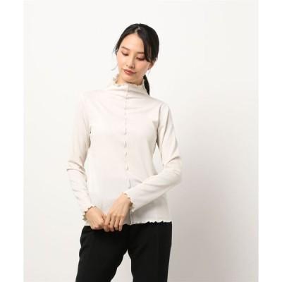 tシャツ Tシャツ ecru メロウハイネックスパークプルオーバー