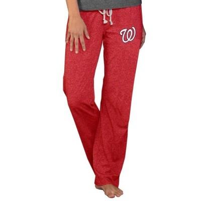 コンセプツ スポーツ レディース カジュアルパンツ ボトムス Washington Nationals Concepts Sport Women's Quest Knit Pants