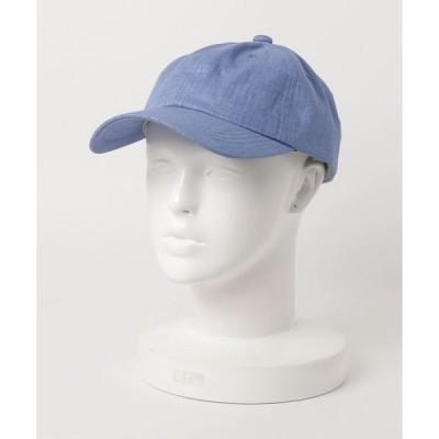 帽子 キャップ 【SI ORIGINAL】SFrench Linen CAP フレンチリネン無地キャップ womens