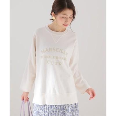 tシャツ Tシャツ 【mucci/ムッチ】 ロゴスウェット【洗濯機使用可能】◆