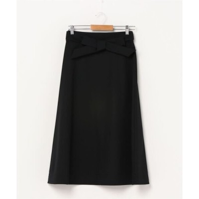 スカート Demi-Luxe BEAMS / ウール フレアスカート
