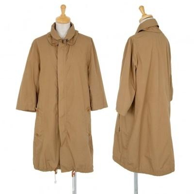 ワイズY's コットン七分袖ミリタリーコート キャメル2 【レディース】
