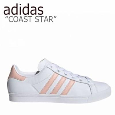 アディダス スニーカー adidas レディース COAST STAR コーストスター WHITE PINK ホワイト ピンク EE8910 シューズ