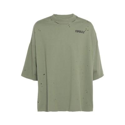BEN TAVERNITI™ UNRAVEL PROJECT T シャツ ミリタリーグリーン S コットン 100% T シャツ
