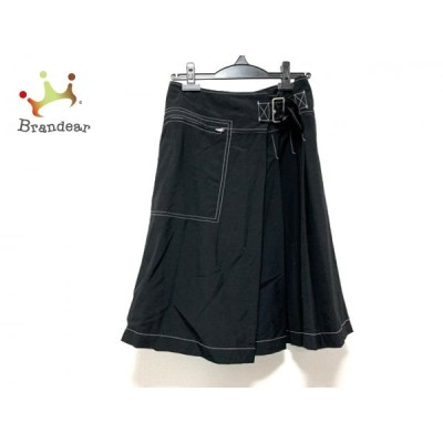 トリココムデギャルソン tricot COMMEdesGARCONS スカート サイズS レディース 美品 黒 AD2000 新着 20200612