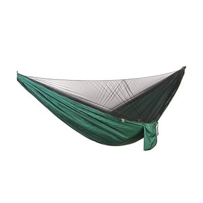 YHDNCG Outdoor Camping Hammock, Lightweight Parachute Nylon Portable Hammock with Mosquito net, can be Used for Backpacking, Camping, Hiking