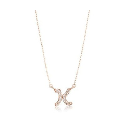 [ディーコレクション] ダイアモンド ネックレス D10K-PG-K ローズゴールド