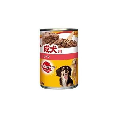 MARS P1 ペディグリー ウェット缶 成犬用 旨みビーフ 400g P1