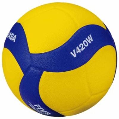 ミカサ バレーボール バレーボール4号 バレーボール 練習球4号  MIKASA V420W
