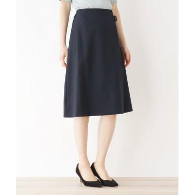index / Reflaxラップデザインフレアスカート【イージーケア/抗ピル/WEB限定サイズ】 WOMEN スカート > スカート