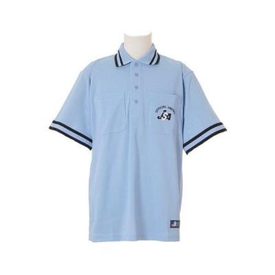 MIZUNO(ミズノ) ソフトボール審判員用 半袖シャツ 52HU15019 カラー:19(パウダーブルー) サイズ:XO
