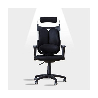 Livinia Office Chair Ergonomic Lumbar Support Design - High Back Racing Style with Lumbar Cushion, Height Adjustable Seat Computer Gaming with Padded