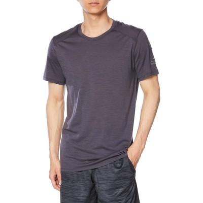 [アイスブレーカー] Tシャツ アンプリファイ ショートスリーブ クルー メンズ パンサー US L (日本サイズXL相当)
