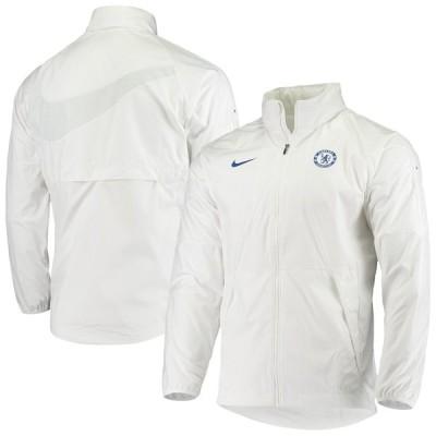 """ナイキ メンズ ジャケット """"Chelsea"""" Nike All-Weather Raglan Jacket - White"""