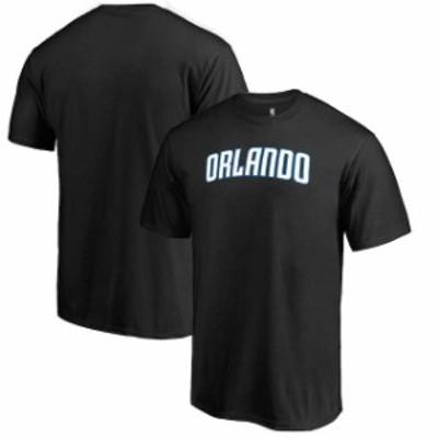 Fanatics Branded ファナティクス ブランド スポーツ用品  Fanatics Branded Black Orlando Magic Alternate Logo T-Shirt