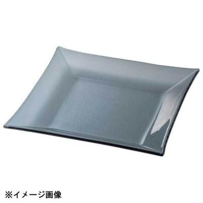 光洋陶器 KOYO シーニュ スモーク 23.5cm スクエアープレート G2630062